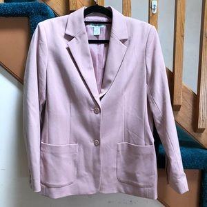 Style & Co Pink Oversized Blazer
